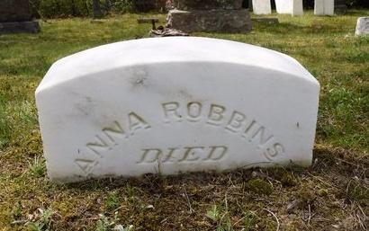 ROBBINS, ANNA - Suffolk County, New York | ANNA ROBBINS - New York Gravestone Photos