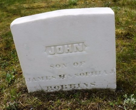 ROBBINS, JOHN - Suffolk County, New York | JOHN ROBBINS - New York Gravestone Photos