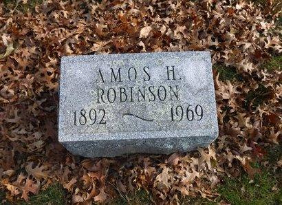 ROBINSON, AMOS H - Suffolk County, New York | AMOS H ROBINSON - New York Gravestone Photos