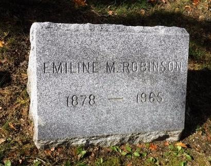 ROBINSON, EMILINE M - Suffolk County, New York | EMILINE M ROBINSON - New York Gravestone Photos