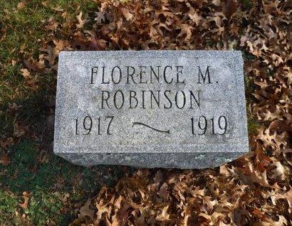 ROBINSON, FLORENCE M - Suffolk County, New York   FLORENCE M ROBINSON - New York Gravestone Photos