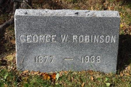 ROBINSON, GEORGE W - Suffolk County, New York | GEORGE W ROBINSON - New York Gravestone Photos