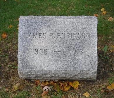 ROBINSON, JAMES R - Suffolk County, New York | JAMES R ROBINSON - New York Gravestone Photos