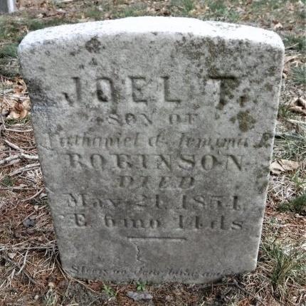 ROBINSON, JOEL T - Suffolk County, New York | JOEL T ROBINSON - New York Gravestone Photos
