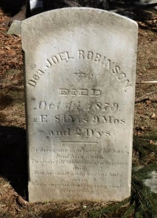 ROBINSON, JOEL - Suffolk County, New York | JOEL ROBINSON - New York Gravestone Photos