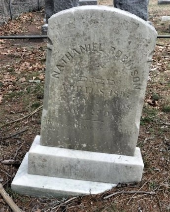 ROBINSON, NATHANIEL - Suffolk County, New York | NATHANIEL ROBINSON - New York Gravestone Photos