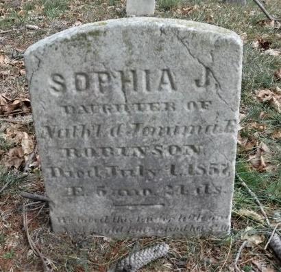 ROBINSON, SOPHIA J - Suffolk County, New York   SOPHIA J ROBINSON - New York Gravestone Photos
