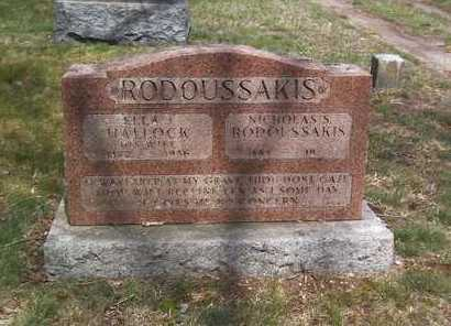 HALLOCK RODOUSSAKIS, ELLA J - Suffolk County, New York | ELLA J HALLOCK RODOUSSAKIS - New York Gravestone Photos