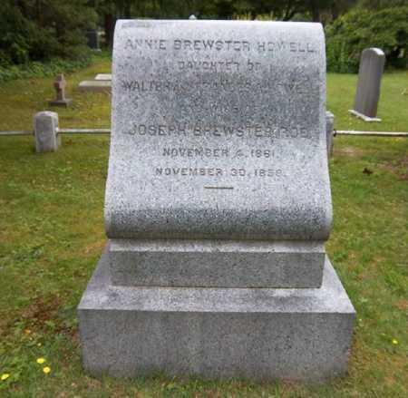 HOWELL, ANNIE BREWSTER - Suffolk County, New York | ANNIE BREWSTER HOWELL - New York Gravestone Photos