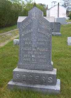 ROGERS, PHEBE A. - Suffolk County, New York | PHEBE A. ROGERS - New York Gravestone Photos