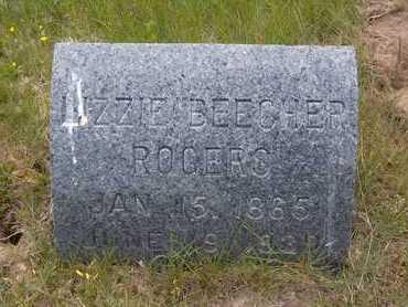 BEECHER ROGERS, LIZZIE - Suffolk County, New York | LIZZIE BEECHER ROGERS - New York Gravestone Photos
