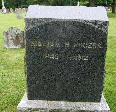ROGERS, WILLIAM H. - Suffolk County, New York | WILLIAM H. ROGERS - New York Gravestone Photos