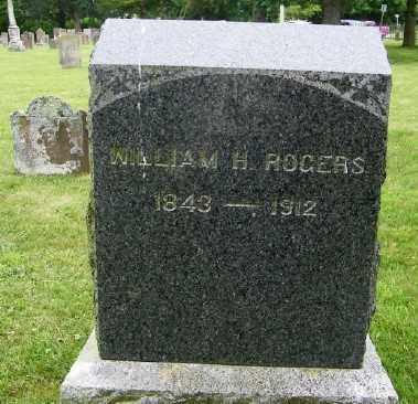ROGERS, WILLIAM H. - Suffolk County, New York   WILLIAM H. ROGERS - New York Gravestone Photos
