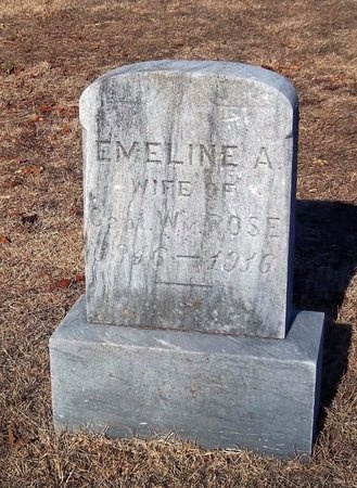 ROSE, EMELINE A - Suffolk County, New York | EMELINE A ROSE - New York Gravestone Photos