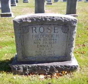 ROSE, EMMA L. - Suffolk County, New York | EMMA L. ROSE - New York Gravestone Photos