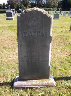 ROSE, HANNAH T. - Suffolk County, New York | HANNAH T. ROSE - New York Gravestone Photos