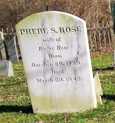 ROSE, PHEBE S - Suffolk County, New York | PHEBE S ROSE - New York Gravestone Photos