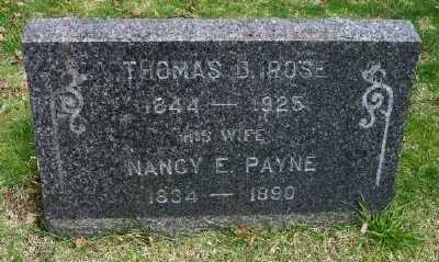 ROSE, THOMAS B - Suffolk County, New York | THOMAS B ROSE - New York Gravestone Photos