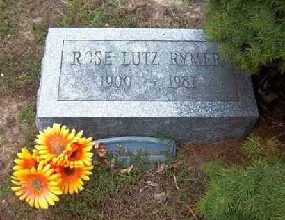 LUTZ RYMER, ROSE - Suffolk County, New York | ROSE LUTZ RYMER - New York Gravestone Photos