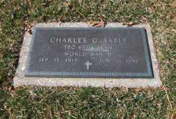 SABLE (WWII), CHARLES G - Suffolk County, New York | CHARLES G SABLE (WWII) - New York Gravestone Photos