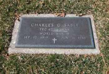 SABLE, CHARLES G. - Suffolk County, New York | CHARLES G. SABLE - New York Gravestone Photos