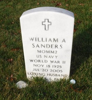 SANDERS (WWII), WILLIAM A - Suffolk County, New York | WILLIAM A SANDERS (WWII) - New York Gravestone Photos