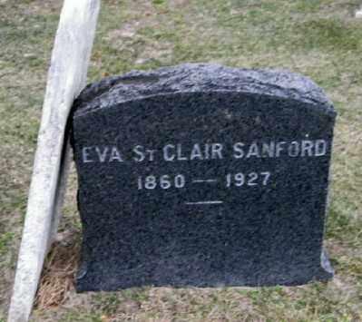 ST. CLAIR, EVA - Suffolk County, New York | EVA ST. CLAIR - New York Gravestone Photos