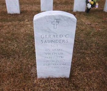 SAUNDERS (VN), GERALD C - Suffolk County, New York | GERALD C SAUNDERS (VN) - New York Gravestone Photos