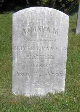 SAYRE, AMANDA M - Suffolk County, New York | AMANDA M SAYRE - New York Gravestone Photos