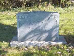 SAYRE, EDITH B. - Suffolk County, New York   EDITH B. SAYRE - New York Gravestone Photos