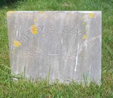 SAYRE, HARRY B - Suffolk County, New York | HARRY B SAYRE - New York Gravestone Photos