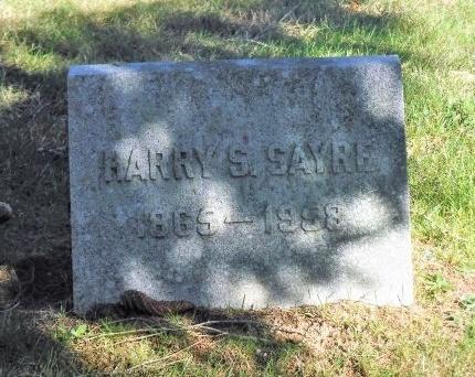 SAYRE, HARRY S - Suffolk County, New York | HARRY S SAYRE - New York Gravestone Photos