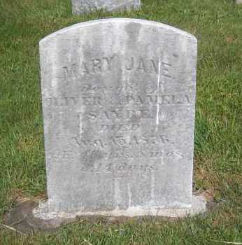 SAYRE, MARY JANE - Suffolk County, New York | MARY JANE SAYRE - New York Gravestone Photos