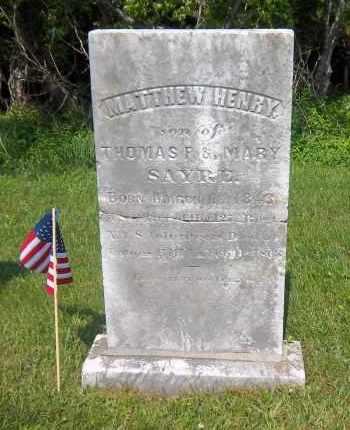 SAYRE, MATTHEW HENRY - Suffolk County, New York | MATTHEW HENRY SAYRE - New York Gravestone Photos