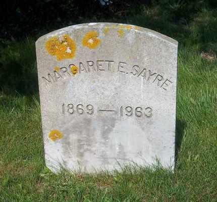SAYRE, MARGARET E - Suffolk County, New York   MARGARET E SAYRE - New York Gravestone Photos