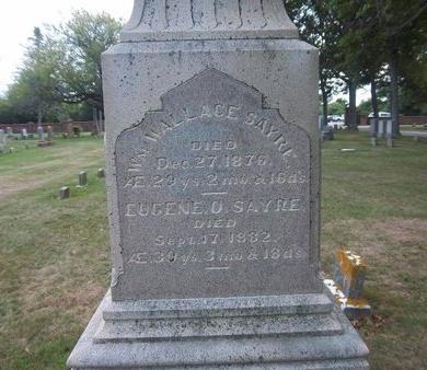 SAYRE, EUGENE O - Suffolk County, New York | EUGENE O SAYRE - New York Gravestone Photos