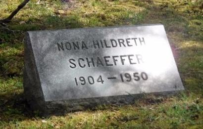 SCHAEFFER, NONA - Suffolk County, New York   NONA SCHAEFFER - New York Gravestone Photos