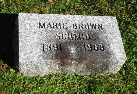 BROWN, MARIE - Suffolk County, New York | MARIE BROWN - New York Gravestone Photos