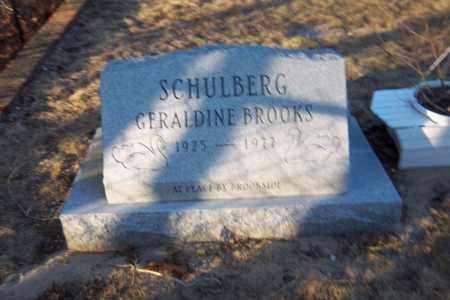 BROOKS SCHULBERG, GERALDINE - Suffolk County, New York | GERALDINE BROOKS SCHULBERG - New York Gravestone Photos