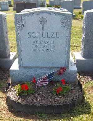SCHULZE, WILLIAM J. - Suffolk County, New York | WILLIAM J. SCHULZE - New York Gravestone Photos