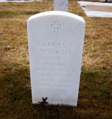 SCORZO (WWII), SAMUEL P - Suffolk County, New York | SAMUEL P SCORZO (WWII) - New York Gravestone Photos