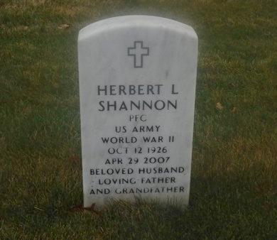 SHANNON, HERBERT L - Suffolk County, New York   HERBERT L SHANNON - New York Gravestone Photos