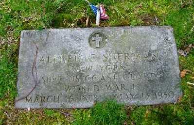 SHERMAN (WWI), ALFRED C - Suffolk County, New York | ALFRED C SHERMAN (WWI) - New York Gravestone Photos