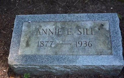 SILL, ANNIE E - Suffolk County, New York | ANNIE E SILL - New York Gravestone Photos