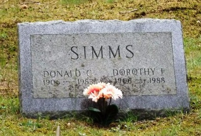 SIMMS, DOROTHY F - Suffolk County, New York | DOROTHY F SIMMS - New York Gravestone Photos