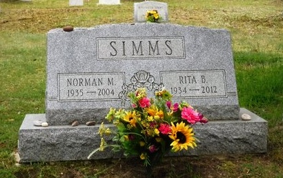 SIMMS, NORMAN M - Suffolk County, New York | NORMAN M SIMMS - New York Gravestone Photos