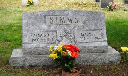 SIMMS, RAYMOND A - Suffolk County, New York   RAYMOND A SIMMS - New York Gravestone Photos