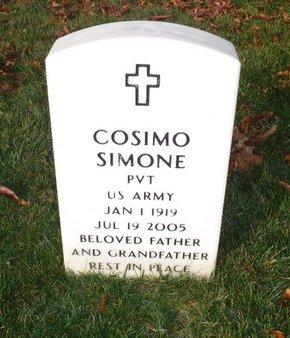 SIMONE, COSIMO - Suffolk County, New York   COSIMO SIMONE - New York Gravestone Photos