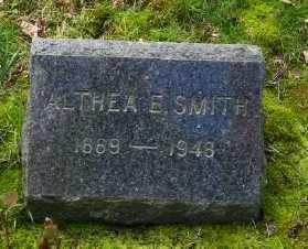 SMITH, ALTHEA E - Suffolk County, New York | ALTHEA E SMITH - New York Gravestone Photos