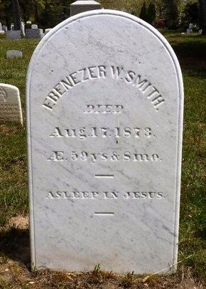 SMITH, EBENEZER W - Suffolk County, New York | EBENEZER W SMITH - New York Gravestone Photos
